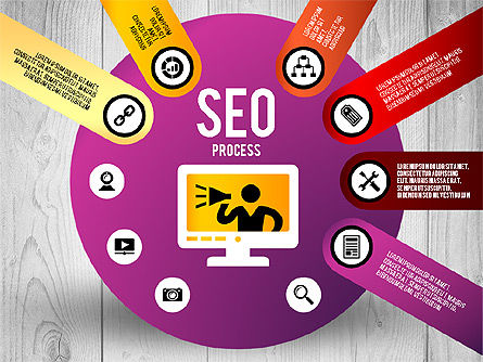 SEO Process Stages, Slide 6, 02699, Stage Diagrams — PoweredTemplate.com