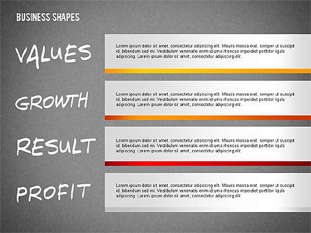 Values Profit Chain Presentation Concept, Slide 10, 02700, Stage Diagrams — PoweredTemplate.com
