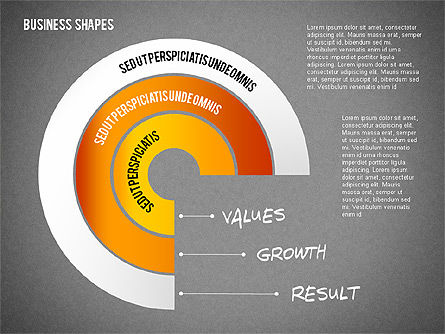 Values Profit Chain Presentation Concept, Slide 11, 02700, Stage Diagrams — PoweredTemplate.com