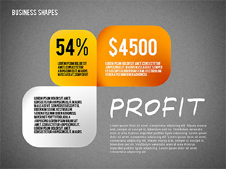 Values Profit Chain Presentation Concept, Slide 14, 02700, Stage Diagrams — PoweredTemplate.com