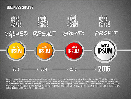 Values Profit Chain Presentation Concept, Slide 16, 02700, Stage Diagrams — PoweredTemplate.com