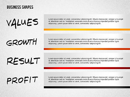 Values Profit Chain Presentation Concept, Slide 2, 02700, Stage Diagrams — PoweredTemplate.com