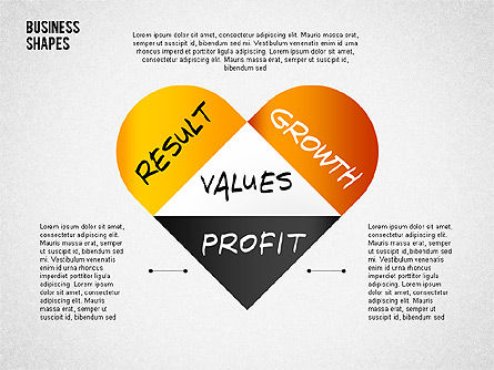 Values Profit Chain Presentation Concept, Slide 4, 02700, Stage Diagrams — PoweredTemplate.com