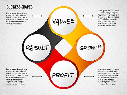 Values Profit Chain Presentation Concept, Slide 5, 02700, Stage Diagrams — PoweredTemplate.com