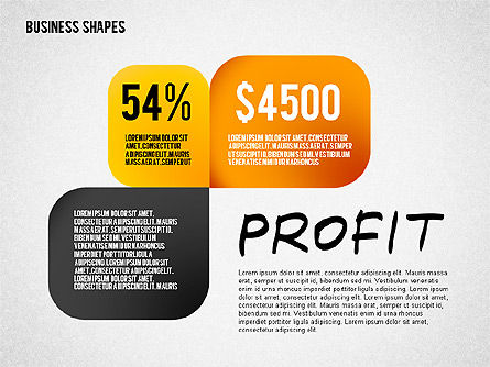 Values Profit Chain Presentation Concept, Slide 6, 02700, Stage Diagrams — PoweredTemplate.com