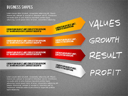 Values Profit Chain Presentation Concept, Slide 9, 02700, Stage Diagrams — PoweredTemplate.com
