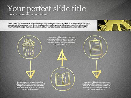 Monochrome Presentation Concept, Slide 12, 02702, Presentation Templates — PoweredTemplate.com