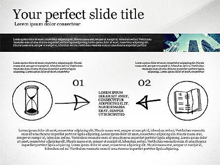 Monochrome Presentation Concept, Slide 3, 02702, Presentation Templates — PoweredTemplate.com