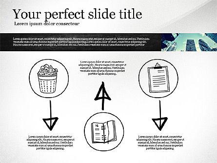 Monochrome Presentation Concept, Slide 4, 02702, Presentation Templates — PoweredTemplate.com