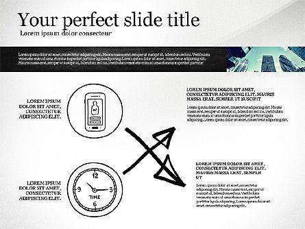 Monochrome Presentation Concept, Slide 6, 02702, Presentation Templates — PoweredTemplate.com