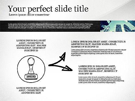 Monochrome Presentation Concept, Slide 8, 02702, Presentation Templates — PoweredTemplate.com