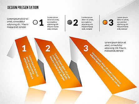 Presentation Template with Creative Shapes Slide 3