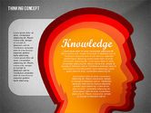 Thinking Concept Presentation Template#11