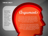 Thinking Concept Presentation Template#12