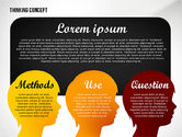 Thinking Concept Presentation Template#7