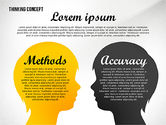 Thinking Concept Presentation Template#8