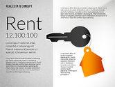 Presentation Templates: Modèle de présentation immobilier #02707