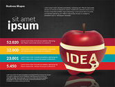 Infographics Stages with Apple#11