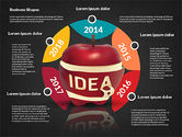 Infographics Stages with Apple#12