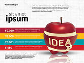 Infographics Stages with Apple#3