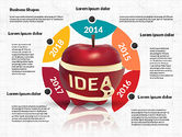 Infographics Stages with Apple#4
