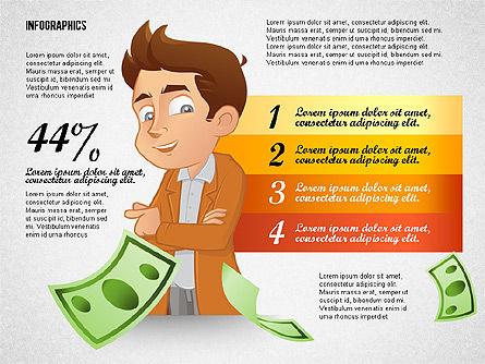Financial Options Concept, Slide 5, 02709, Stage Diagrams — PoweredTemplate.com