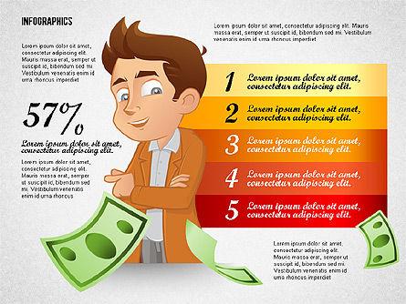 Financial Options Concept, Slide 6, 02709, Stage Diagrams — PoweredTemplate.com
