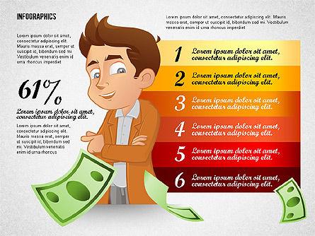 Financial Options Concept, Slide 7, 02709, Stage Diagrams — PoweredTemplate.com