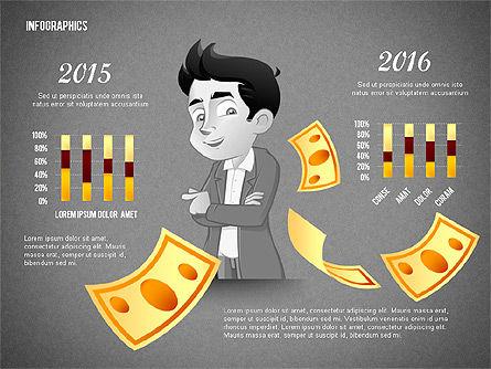 Financial Options Concept, Slide 9, 02709, Stage Diagrams — PoweredTemplate.com