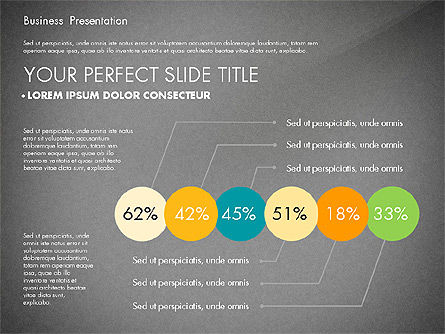 Elegant Business Presentation in Flat Design, Slide 14, 02710, Presentation Templates — PoweredTemplate.com