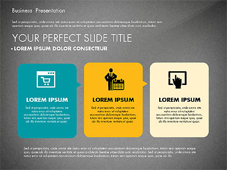 Elegant Business Presentation in Flat Design, Slide 16, 02710, Presentation Templates — PoweredTemplate.com