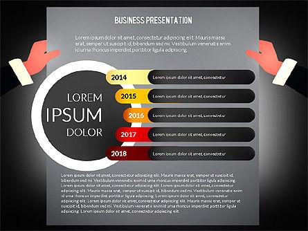 Unusual Business Presentation with Data Driven Charts, Slide 11, 02712, Presentation Templates — PoweredTemplate.com