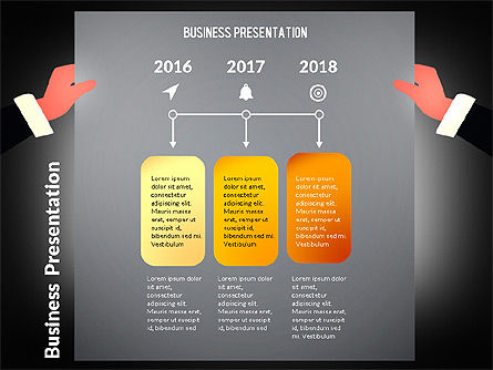 Unusual Business Presentation with Data Driven Charts, Slide 15, 02712, Presentation Templates — PoweredTemplate.com