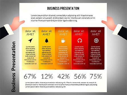 Unusual Business Presentation with Data Driven Charts, Slide 5, 02712, Presentation Templates — PoweredTemplate.com