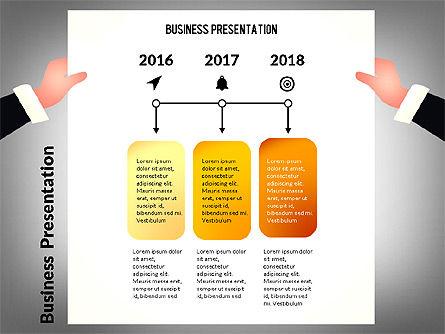 Unusual Business Presentation with Data Driven Charts, Slide 7, 02712, Presentation Templates — PoweredTemplate.com