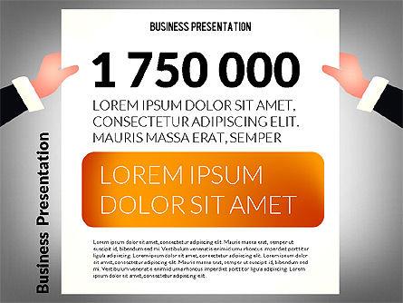 Unusual Business Presentation with Data Driven Charts, Slide 8, 02712, Presentation Templates — PoweredTemplate.com