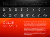 Flat Design Presentation with Icons#14