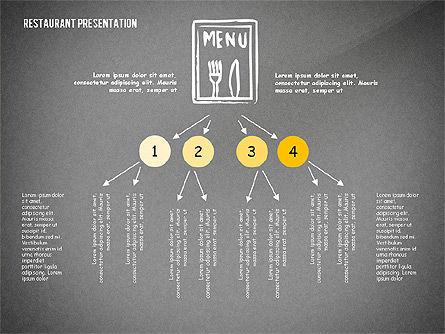 Restaurant Menu Serving Presentation Template, Slide 14, 02716, Presentation Templates — PoweredTemplate.com