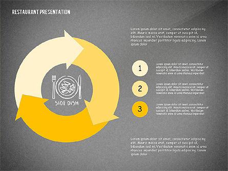 Restaurant Menu Serving Presentation Template, Slide 15, 02716, Presentation Templates — PoweredTemplate.com