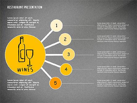 Restaurant Menu Serving Presentation Template, Slide 16, 02716, Presentation Templates — PoweredTemplate.com
