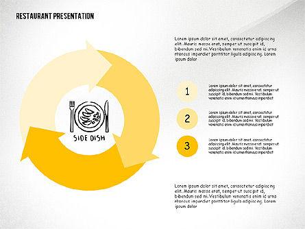 Restaurant Menu Serving Presentation Template, Slide 7, 02716, Presentation Templates — PoweredTemplate.com
