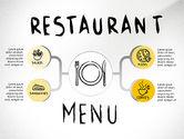 Presentation Templates: Restaurant Menu Serving Presentation Template #02716