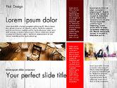 Presentation Templates: Flat Design Presentation with Photos #02718