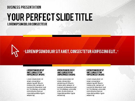 Vivid Presentation Template, 02720, Presentation Templates — PoweredTemplate.com
