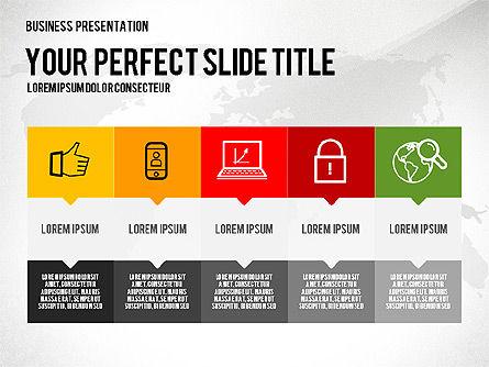 Vivid Presentation Template, Slide 2, 02720, Presentation Templates — PoweredTemplate.com