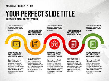 Vivid Presentation Template, Slide 3, 02720, Presentation Templates — PoweredTemplate.com