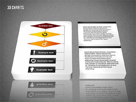 3D Process Flow Chart, Slide 11, 02724, Flow Charts — PoweredTemplate.com