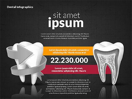 Dental Infographics, Slide 10, 02727, Medical Diagrams and Charts — PoweredTemplate.com