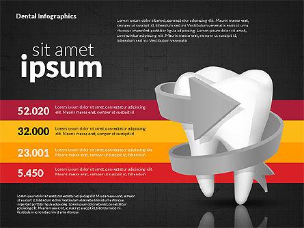 Dental Infographics, Slide 11, 02727, Medical Diagrams and Charts — PoweredTemplate.com