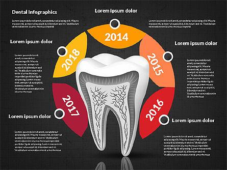 Dental Infographics, Slide 12, 02727, Medical Diagrams and Charts — PoweredTemplate.com